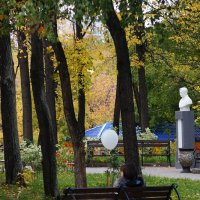 Осень в парке :: Валерия Калашникова