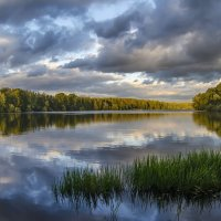 Небо сентября. :: Дмитрий Блинков