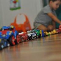Пробки в детской :: Илья Моисеев