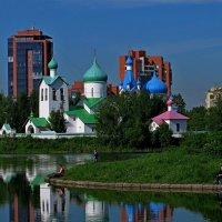 Питер, парк Городов Героев :: Елена Третьякова