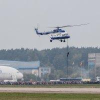 Первый пошел!!! Из Ми-8АМТ десант высаживался по канату :: Павел Myth Буканов