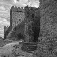Старая крепость чб :: Игорь Кузьмин