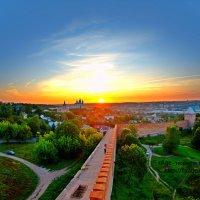 Закат над Смоленском :: Александр Галемский