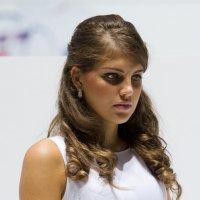 Девушка со стенда Skoda :: Михаил Силин