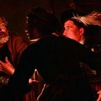 Герард Зегерс (1591-1651). Отречение святого Петра, первая половина  17 века. Фрагмент :: halloART.ru Изобразительное искусство