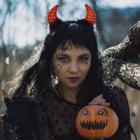 образ на Хэллоуин :: Юлия Крапивина