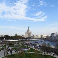 Парящий мост. Зарядье. Москва. :: Елен@Ёлочка К.Е.Т.