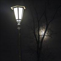 Фонарь и луна :: Александр