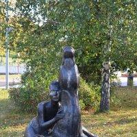 """Скульптура """"Девочка с жеребенком""""... :: Наташа *****"""
