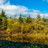 Осень в горах :: Александр Смольников