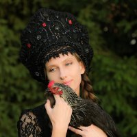 """""""Black hen"""" :: Юлия Ляшенко"""