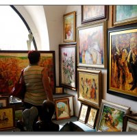 В галерея Яффо. :: Leonid Korenfeld
