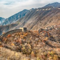 Great Wall Autumn* :: Дмитрий Кудрявцев