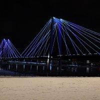 Мост на остров Татышев в Красноярске. :: Татьяна Соловьева
