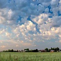 Облака. На окраине Шуи. :: Сергей Пиголкин