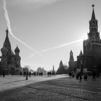 Сошлись над Москвой ... :: Лариса Корж