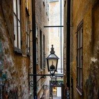 Самая узкая улица Стокгольма :: Наталия Л.