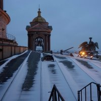 Фрагмент Исаакиевского собора :: Елена