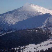 Зима в горах.. :: Любовь Иванова