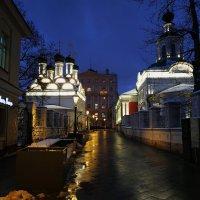 Москва вечерняя, предновогодняя :: Андрей Лукьянов