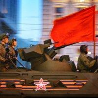 Репетиция парада Победы в Москве :: Михаил Танин