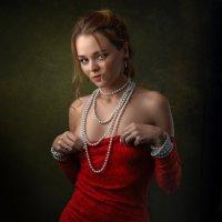 The lady in red :: Сергей Анисимов