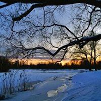 Зимний вечер :: Лариса С.
