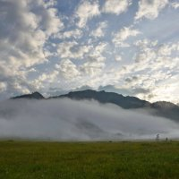 Гора в тумане :: Галина