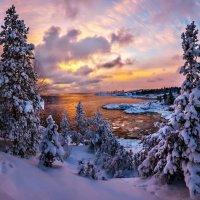 Зимний закат :: Alex ARt