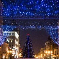 Улица Ленинградская.... Новогодняя Самара.... :: Наталья Меркулова