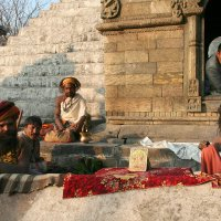 Садху. Непал. :: Светлана Булашевская