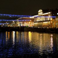Петербург новогодний. Фонтанка :: Марина Колядина