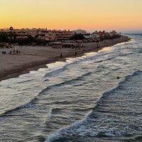 Закат на море :: Валерий Т