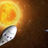 Возвращение SpaceX :: irina Schwarzer