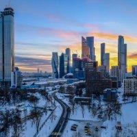 Москва-Сити - закат :: Георгий А