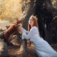 в сказочном лесу :: Оксана Денина