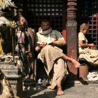 Монахи. Непал. 2 :: Светлана Булашевская