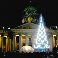 В Рождество у Казанского собора. :: Лия ☼
