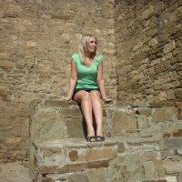 Очаровательное фото в Генуэзской крепости :: ОленьКа *