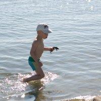 Малыш на рыбалке))) :: ОленьКа *