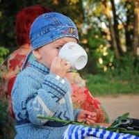 .. втихаря пили лимонад Серия: Дети - цветы жизни :: Любовь Губанова