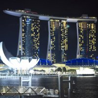 Ночной Сингапур :: Алексей Зверев
