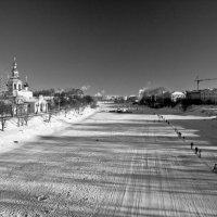 Река Вологда -29 по цельсию :: Андрей Панин