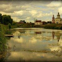 Закат в Суздале :: Евгений Жиляев