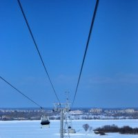Канатная дорога в Нижнем Новгороде :: Маша Широкая