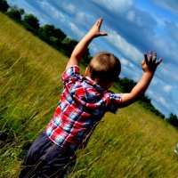 Вот какой большой...дотянулся до неба!!!! :: Ирина Юдина