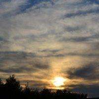 Вечернее небо!!!! :: Ирина Юдина
