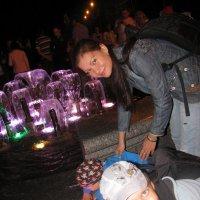 Ночью у фонтана :: Олеся Королева