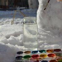 раскрась зиму :: Виктория Котлярчук