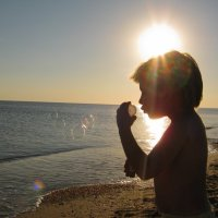 Море,солнце,пузыри:) :: ольга хадыкина